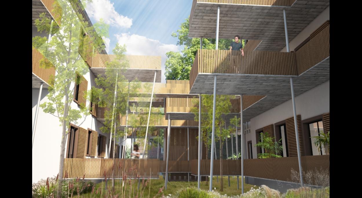 Réhabilitation d'immeubles - Création de 29 logements -MULHOUSE (68)