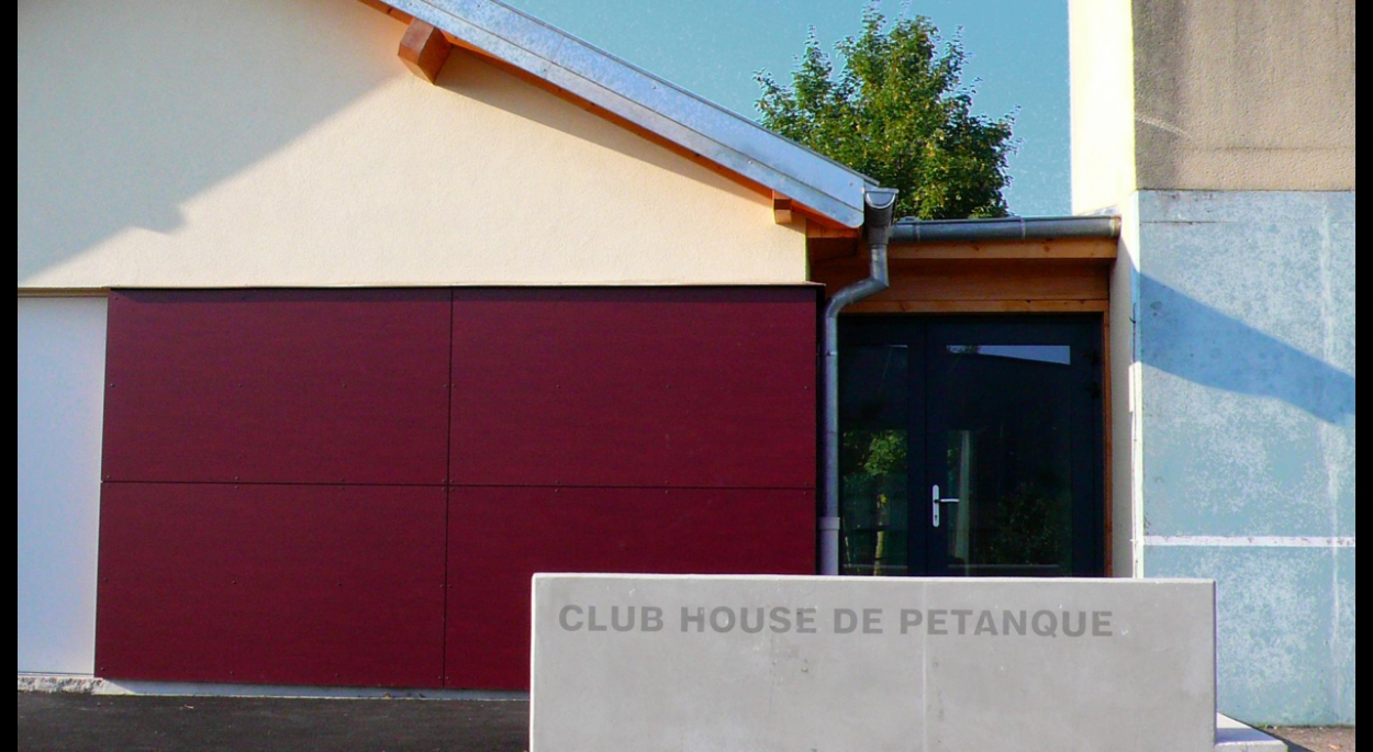 Extension du Club House - Fessenheim
