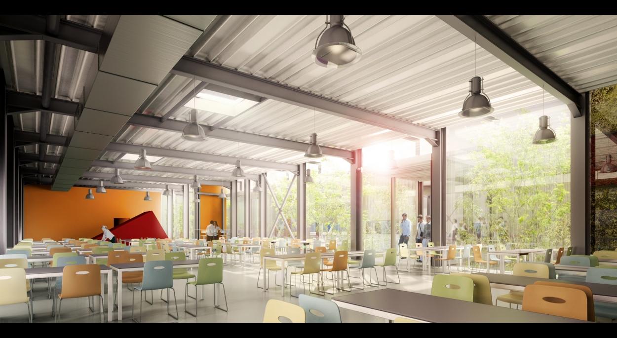Extension du restaurant universitaire du CROUS à Cronenbourg