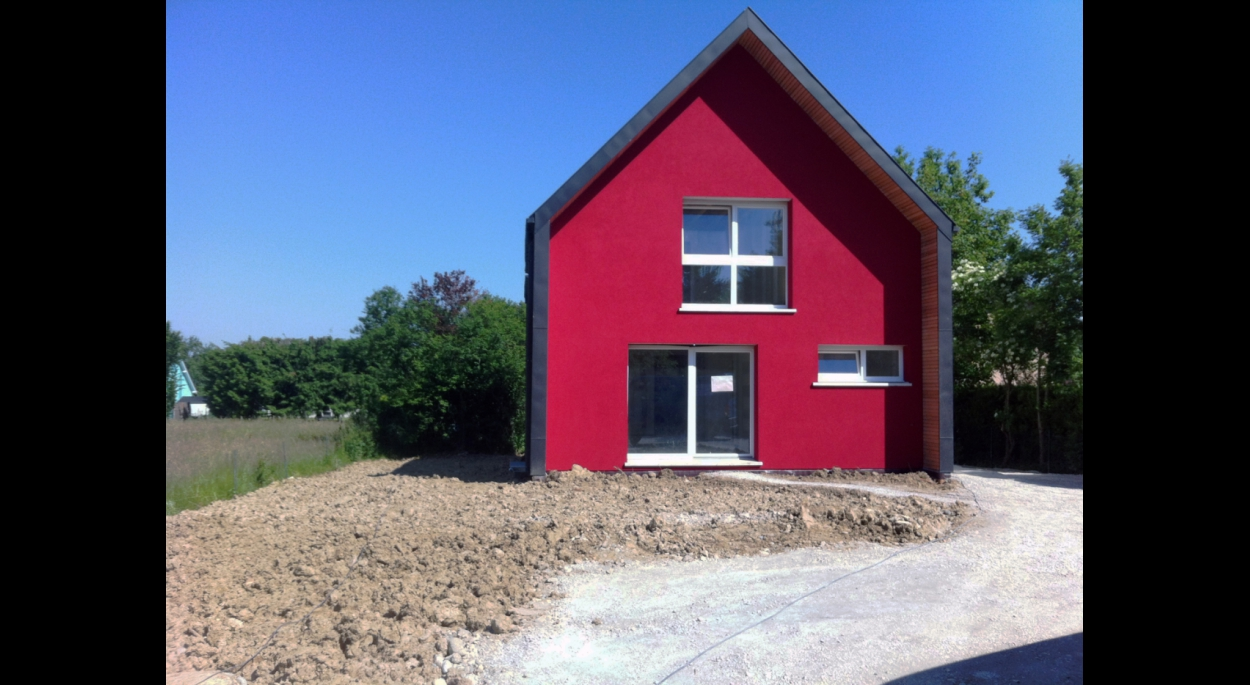 Maison Schicklin à Michelbach le bas (en chantier) 125 m2 habitables BBC+ sous sol
