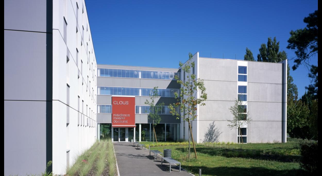 Résidence Master-Doctorat, 152 studios pour étudiants à Mulhouse