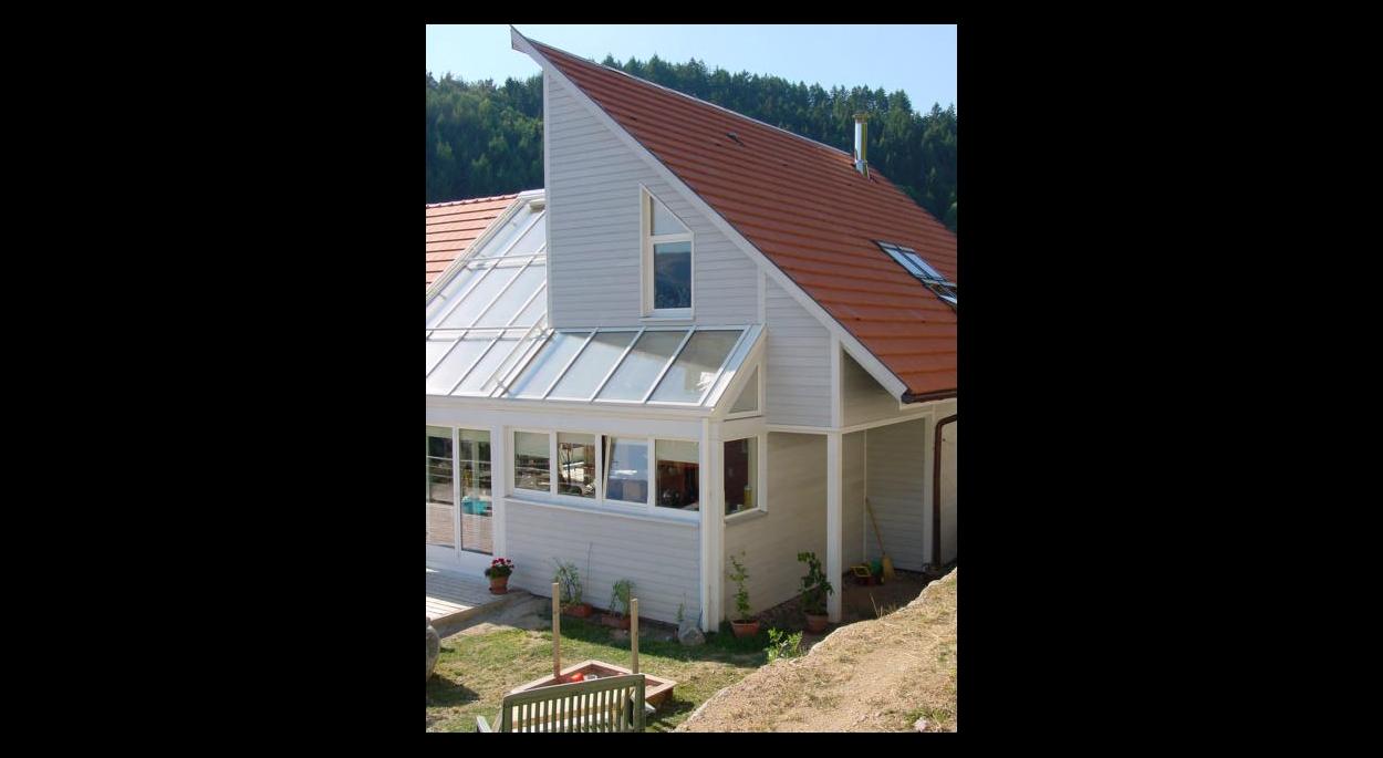 maison bioclimatique construction neuve ossature bois