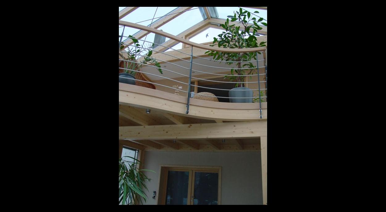 véranda sur deux niveaux construction neuve