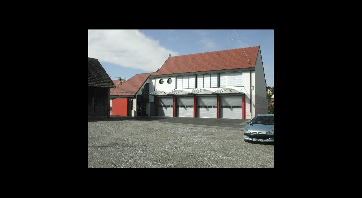 Construction d'un centre d'intervention et de premier secours à Habsheim