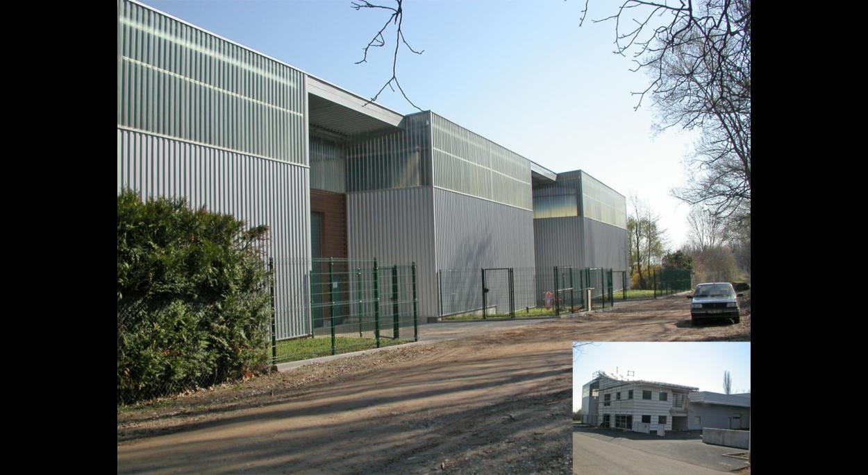 CONSTRUCTION DE HALL DE STOCKAGE ET LOCAUX PROFESSIONNELS À RIBEAUVILLÉ (68150)