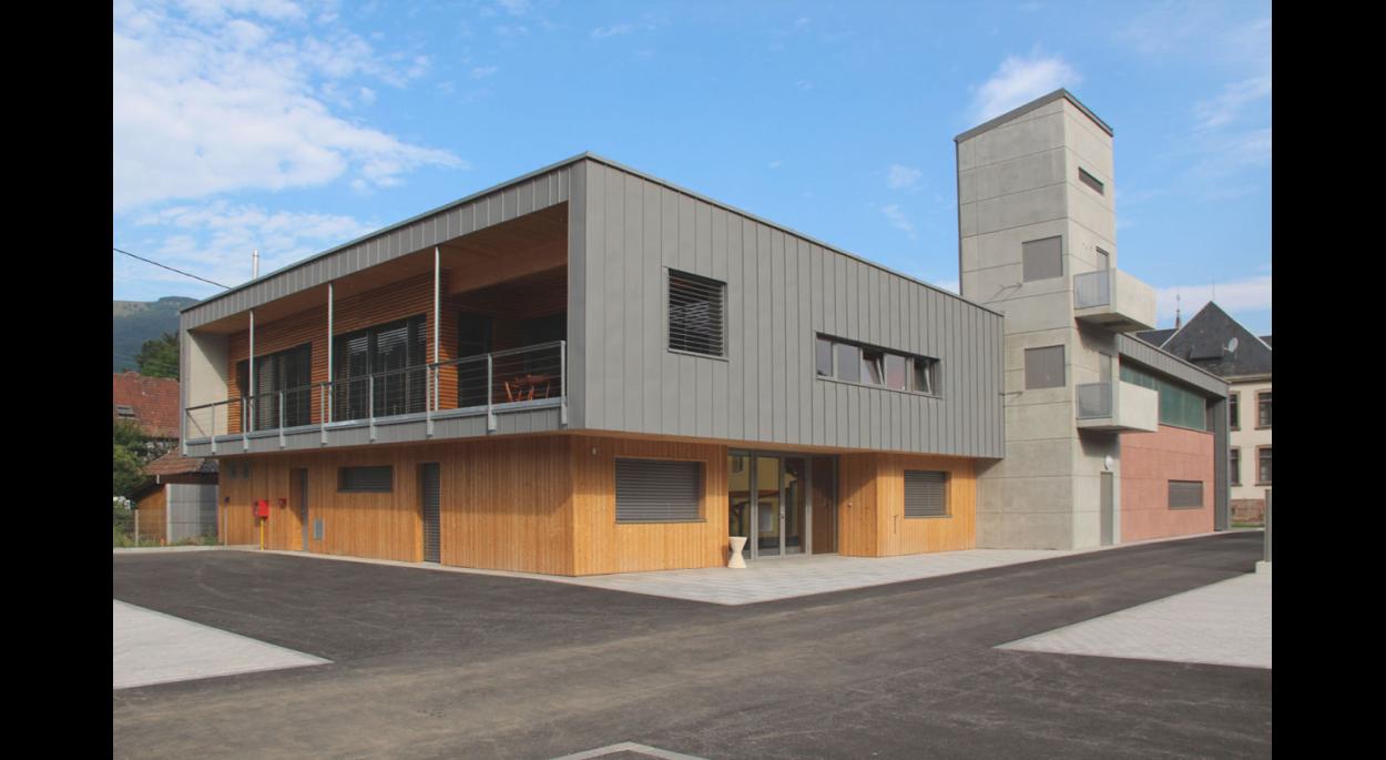 Construction d'un Centre de Première Intervention à Bitschwiller -lès-Thann