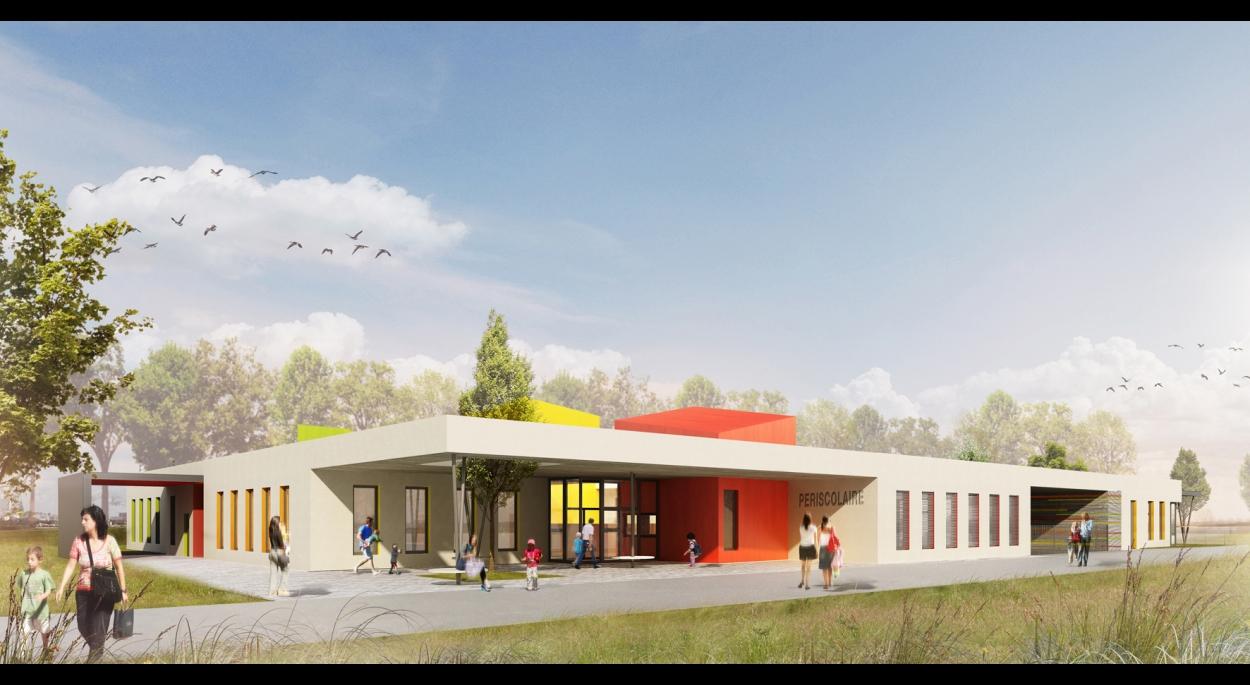 Construction d'un Acuueil de Loisirs Sans Hébergement à Eschau