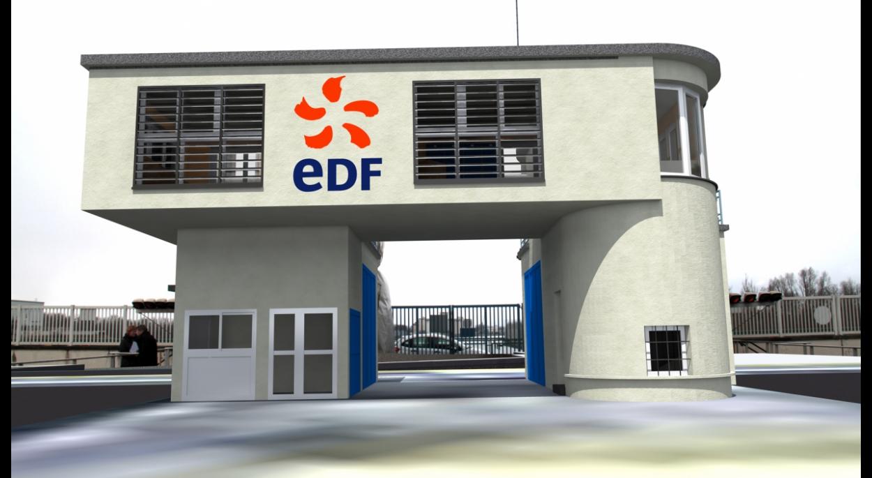 VOGELGRUN - EDF - Rénovation du poste de commande des écluses