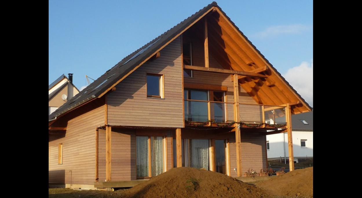Maison bois à PFULGRIESHEIM
