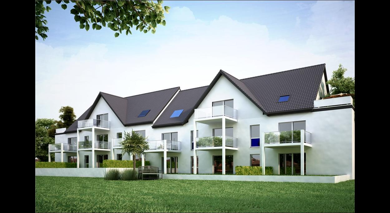 Construction d'un immeuble collectif de 12 BBC à BARTENHEIM