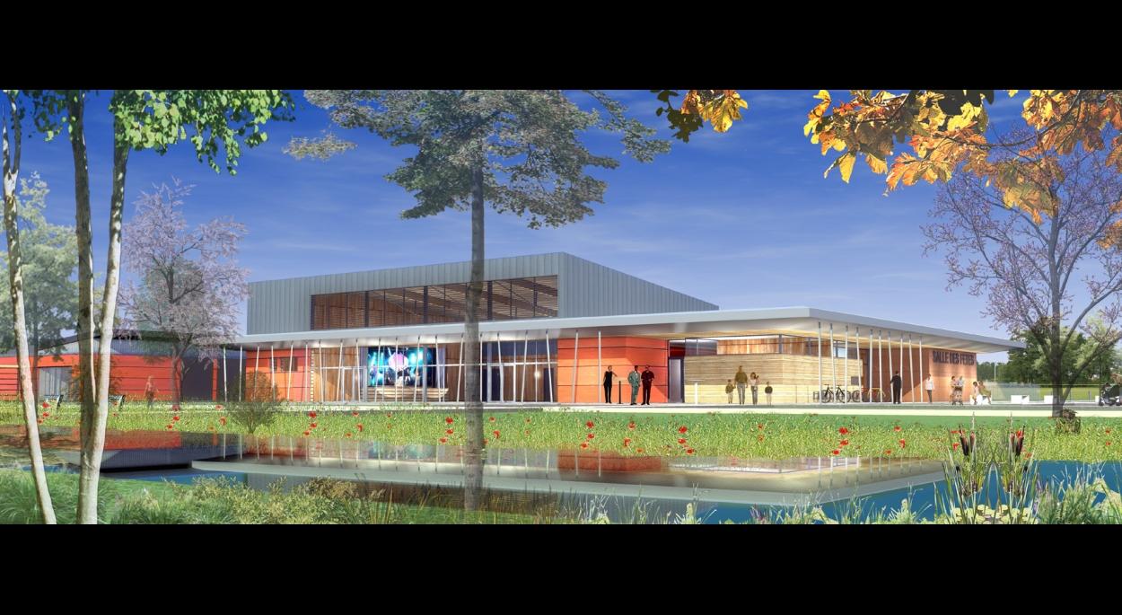 Construction d'une Salle des fêtes à Algolsheim (BBC)