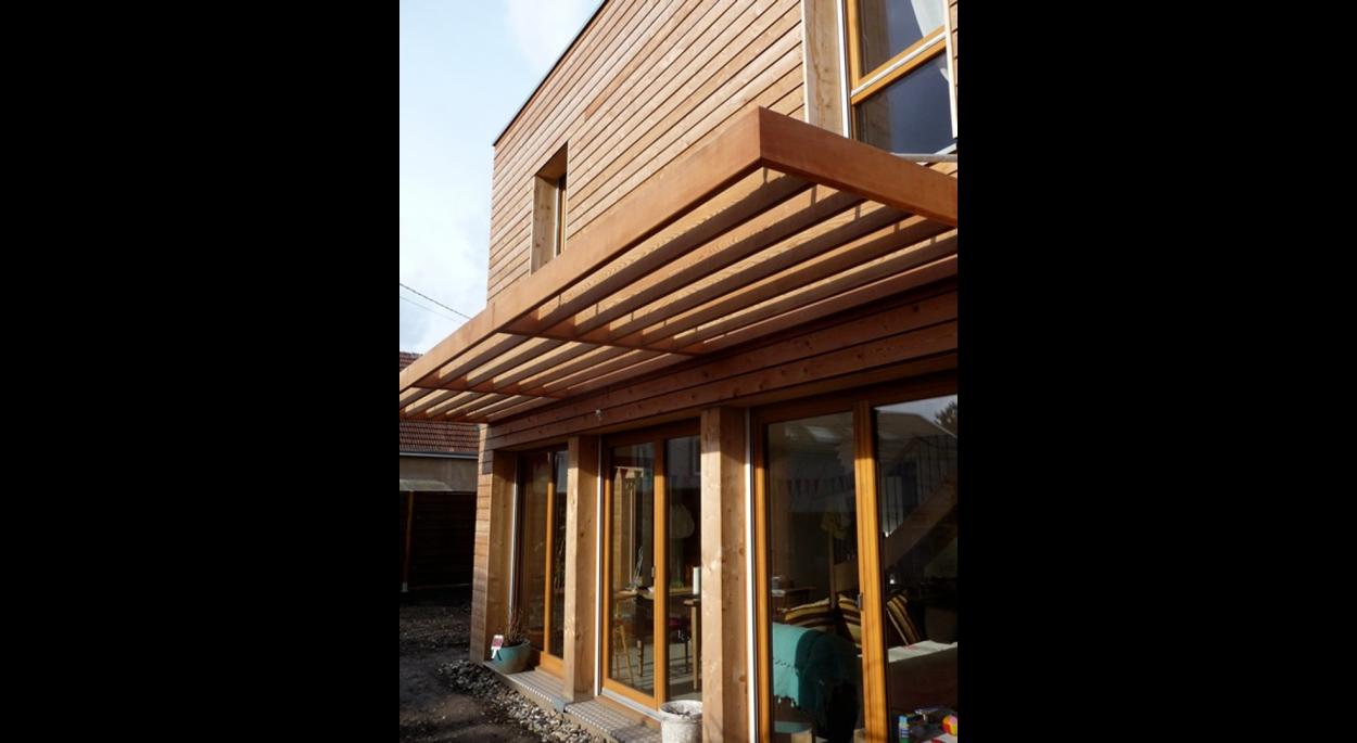 Maison bois à LINGOLSHEIM