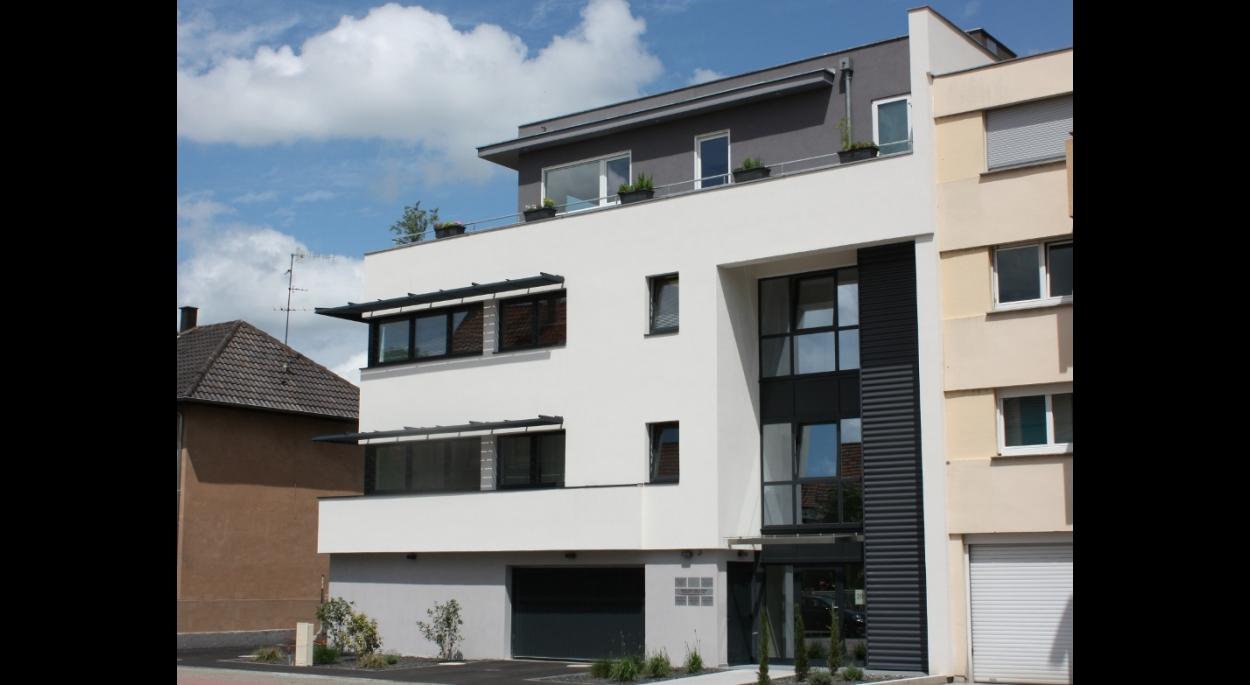 immeuble collectif mixte bureaux / habitat