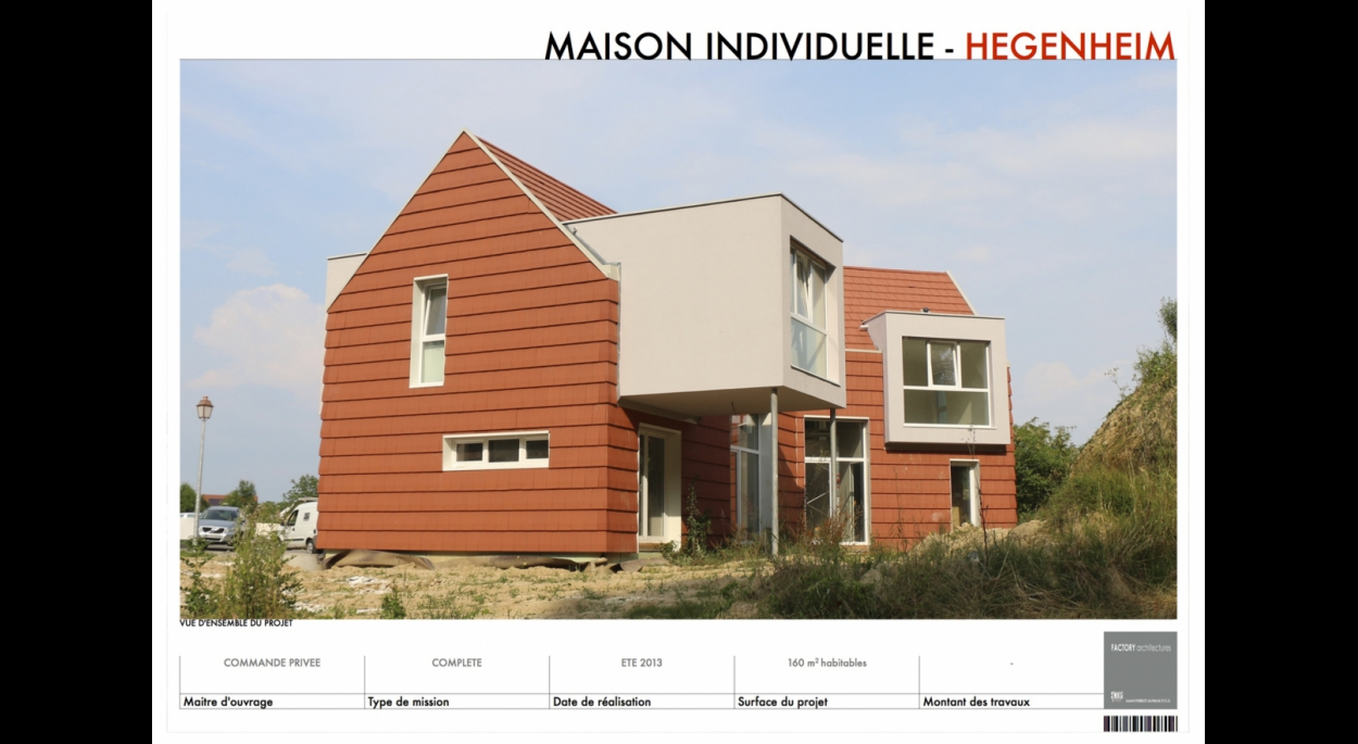 Maison individuelle à Hégenheim