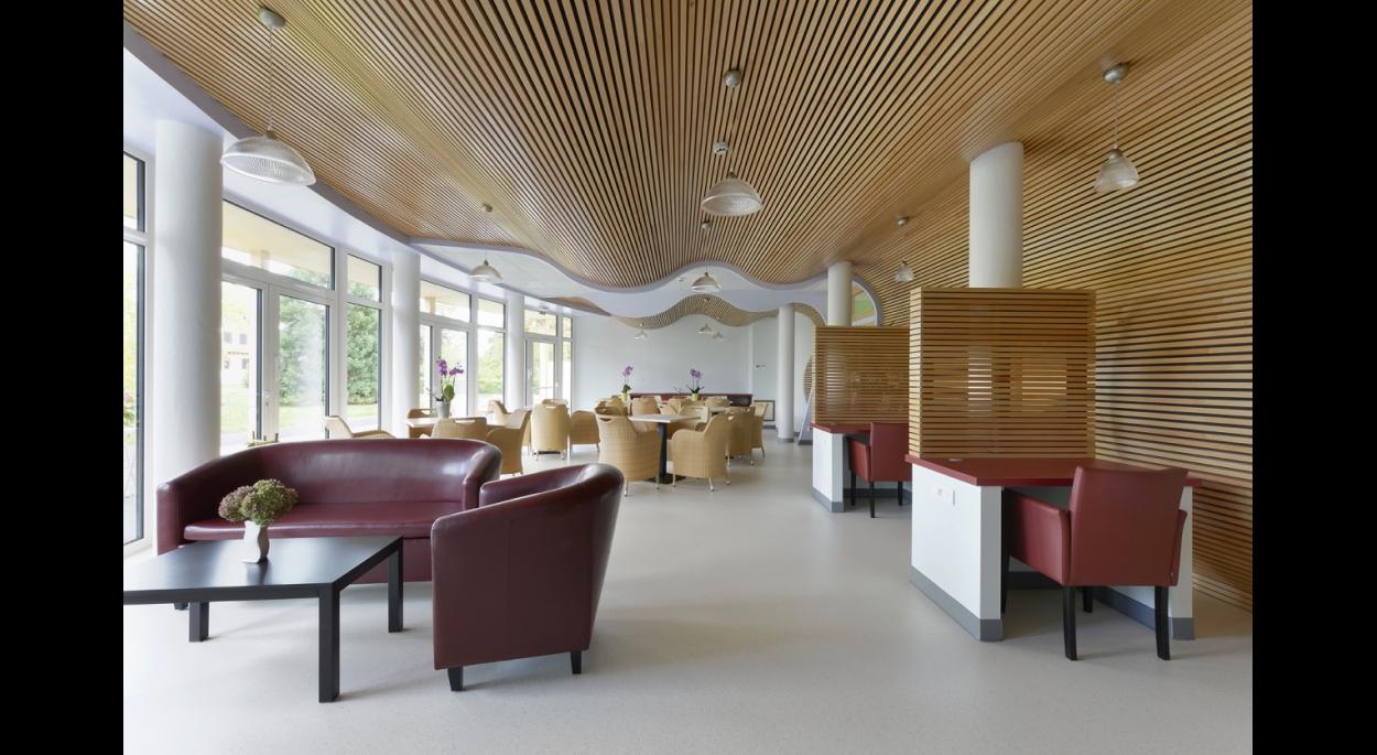 Création d'un espace d'accueil pour une maison de retraite à Hilsenheim