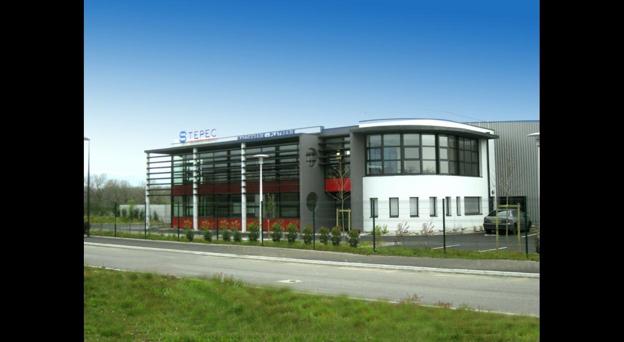 Construction d'un hall de stockage avec bureaux à Wittelsheim