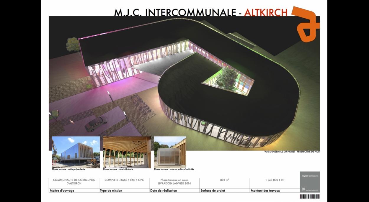 M.J.C. INTERCOMMUNALE A ALTKIRCH