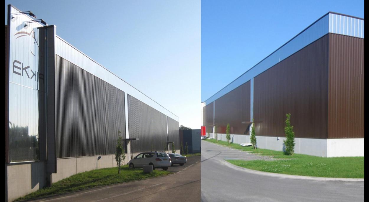 Hall de stockage 4000 m2 à HAGUENAU