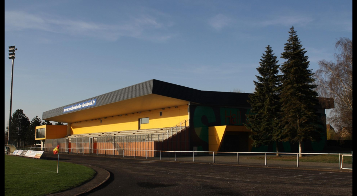 Réhabilitation et extension du hall des sports - Biesheim