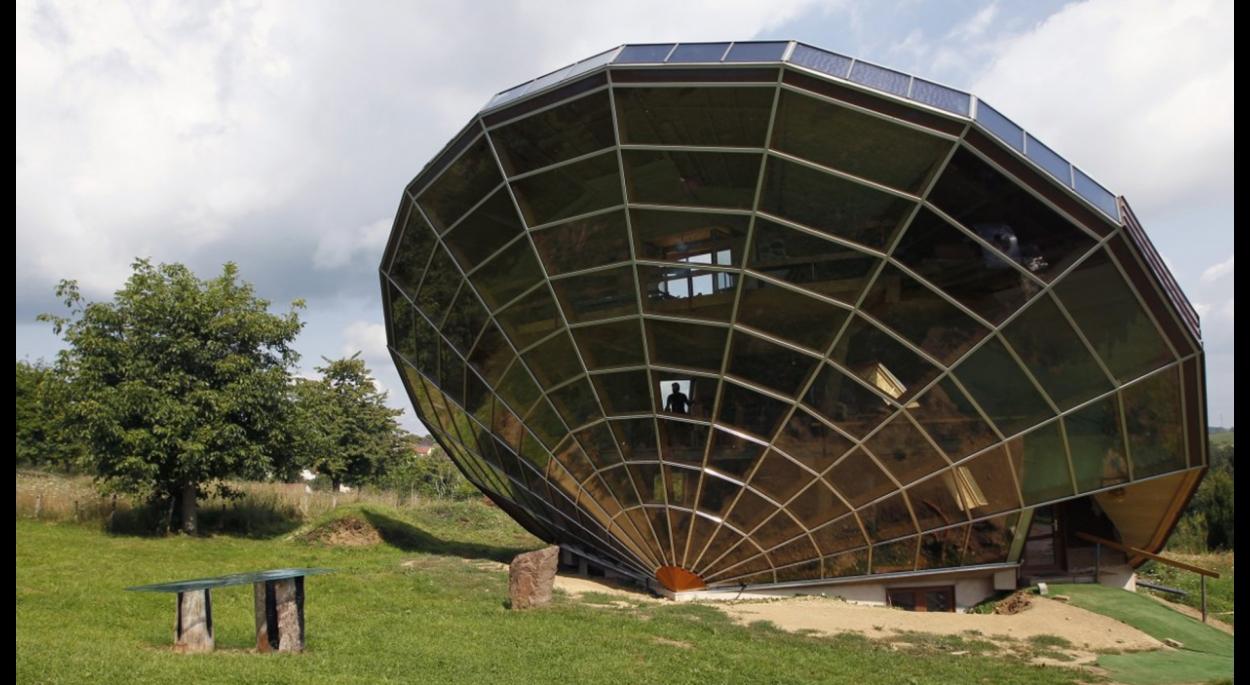 HELIODOME - Collaboration avec Eric WASSER sur les maisons solaires