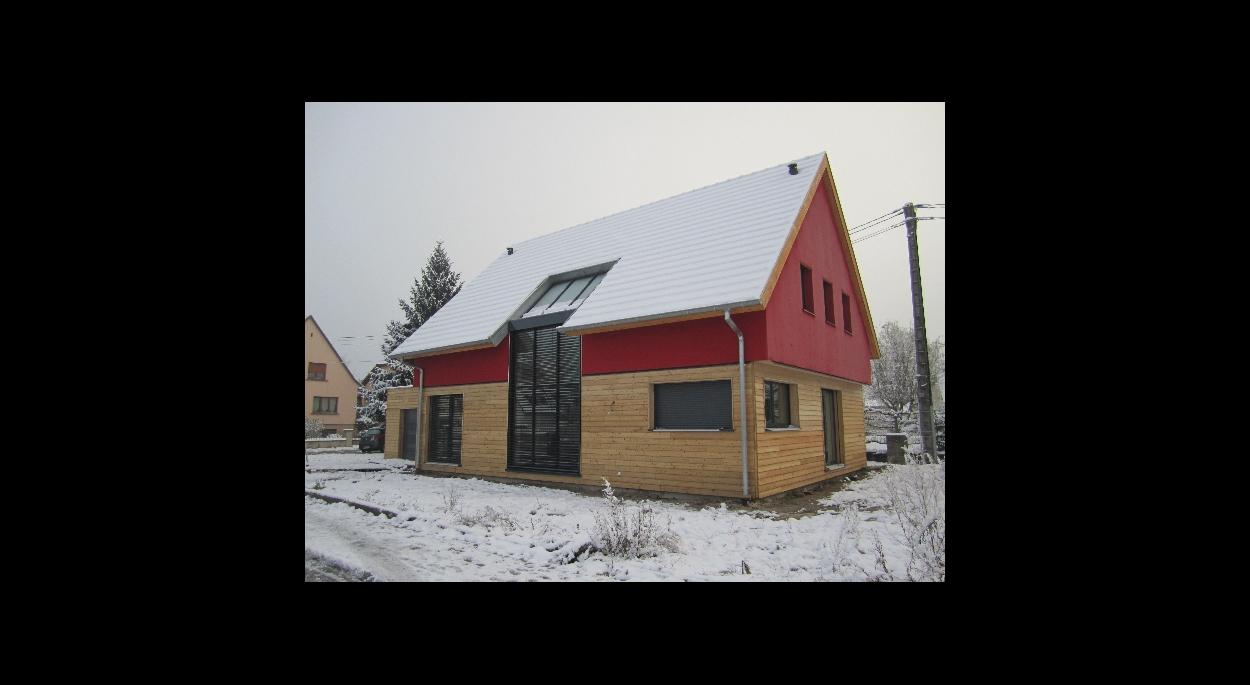 maison BBC ossature bois construction neuve