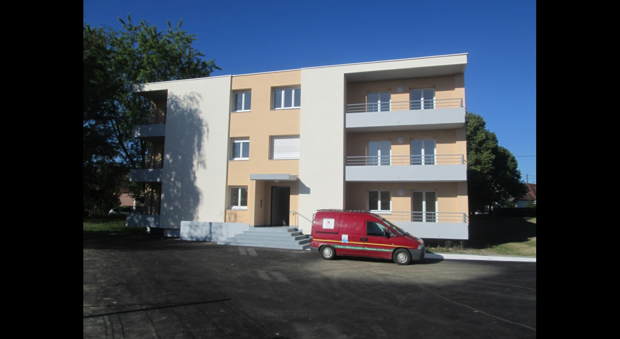 Réhabilitation d'une gendarmerie en 10 logements à Wittenheim