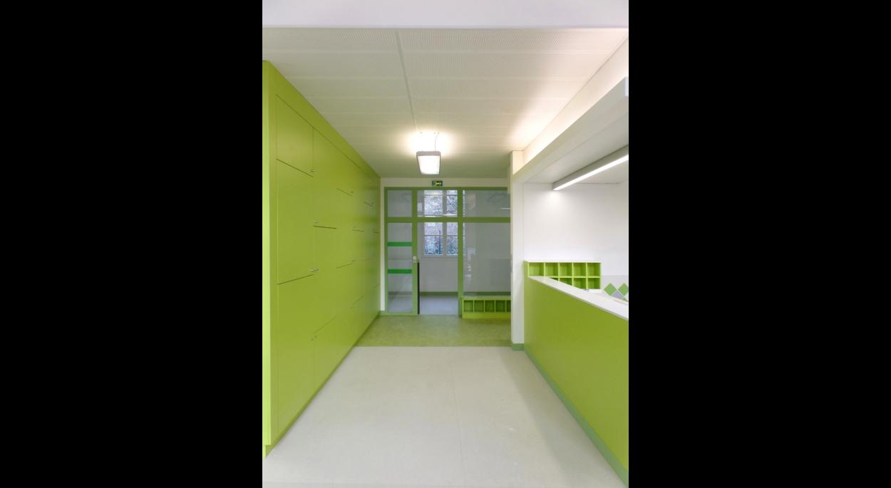 Salle de la halte garderie (salle d'activité)- *Photos: aHa