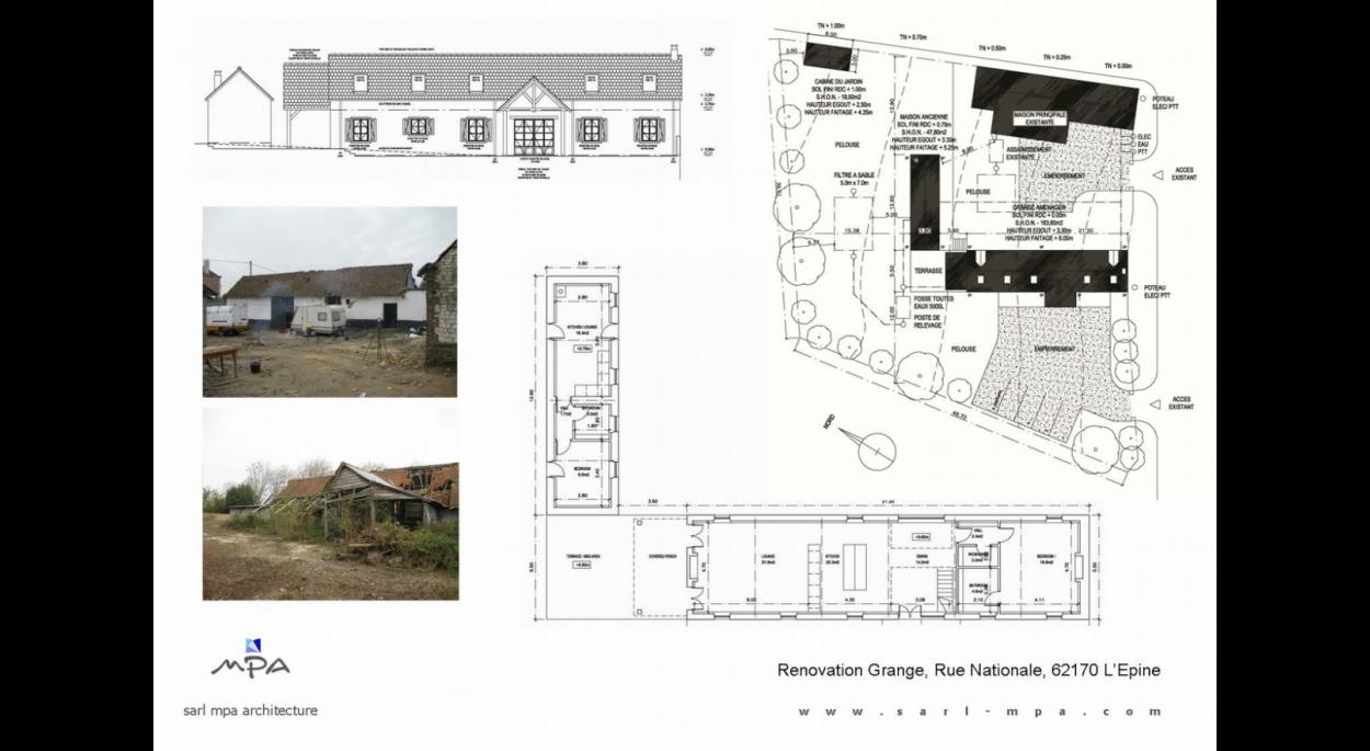 Renovation Extension Malcolm Parry Architecte Ordre Des