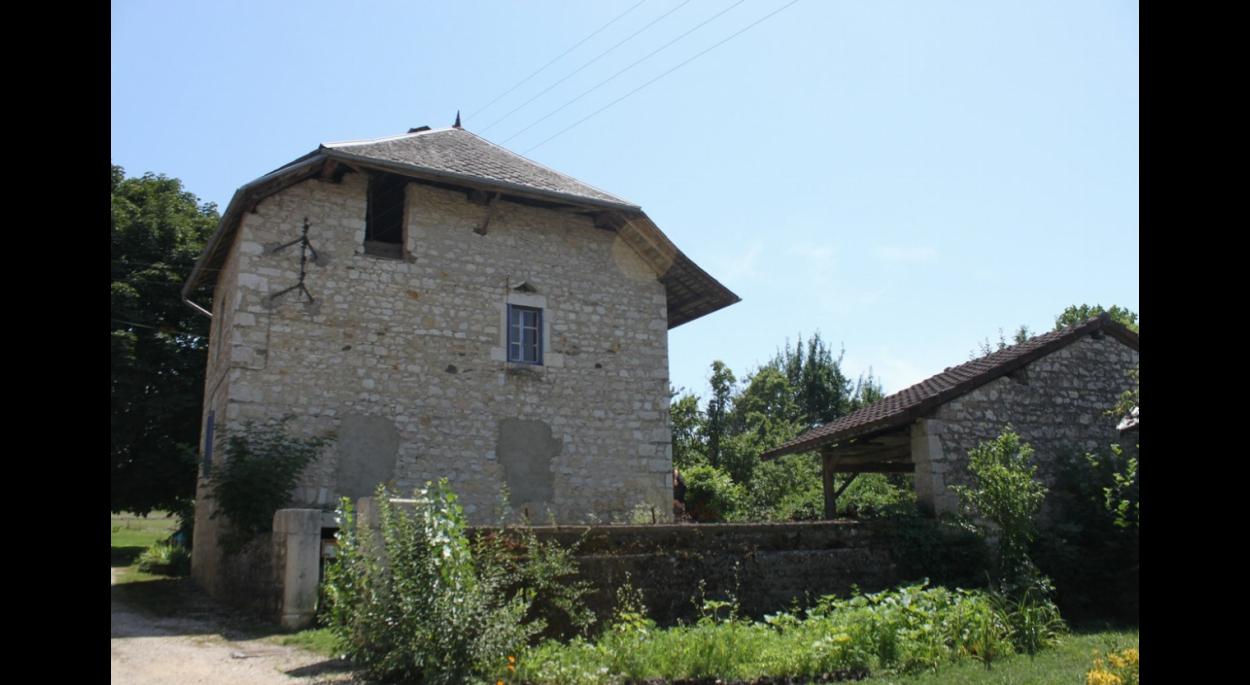 maison existante en pierre