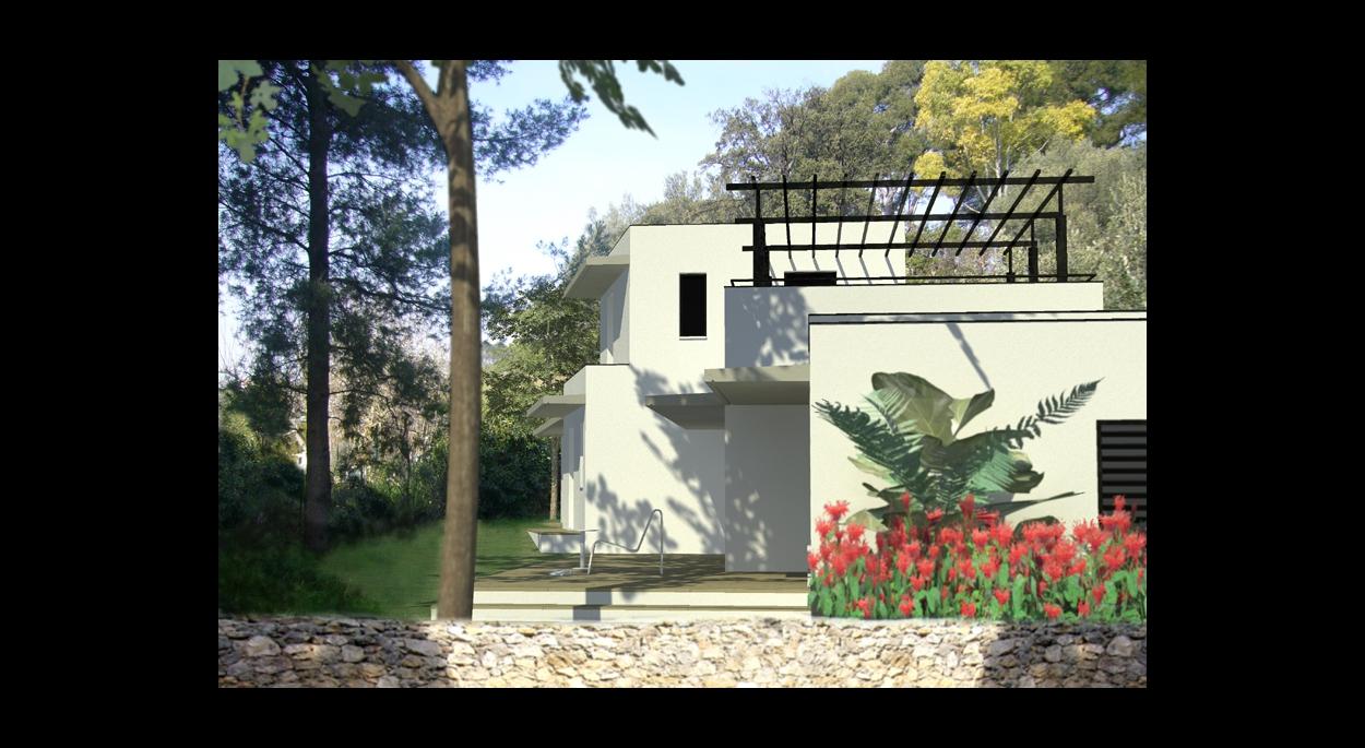 Villa Moderne à Toulon Conception Faracil Frédéric Poulat