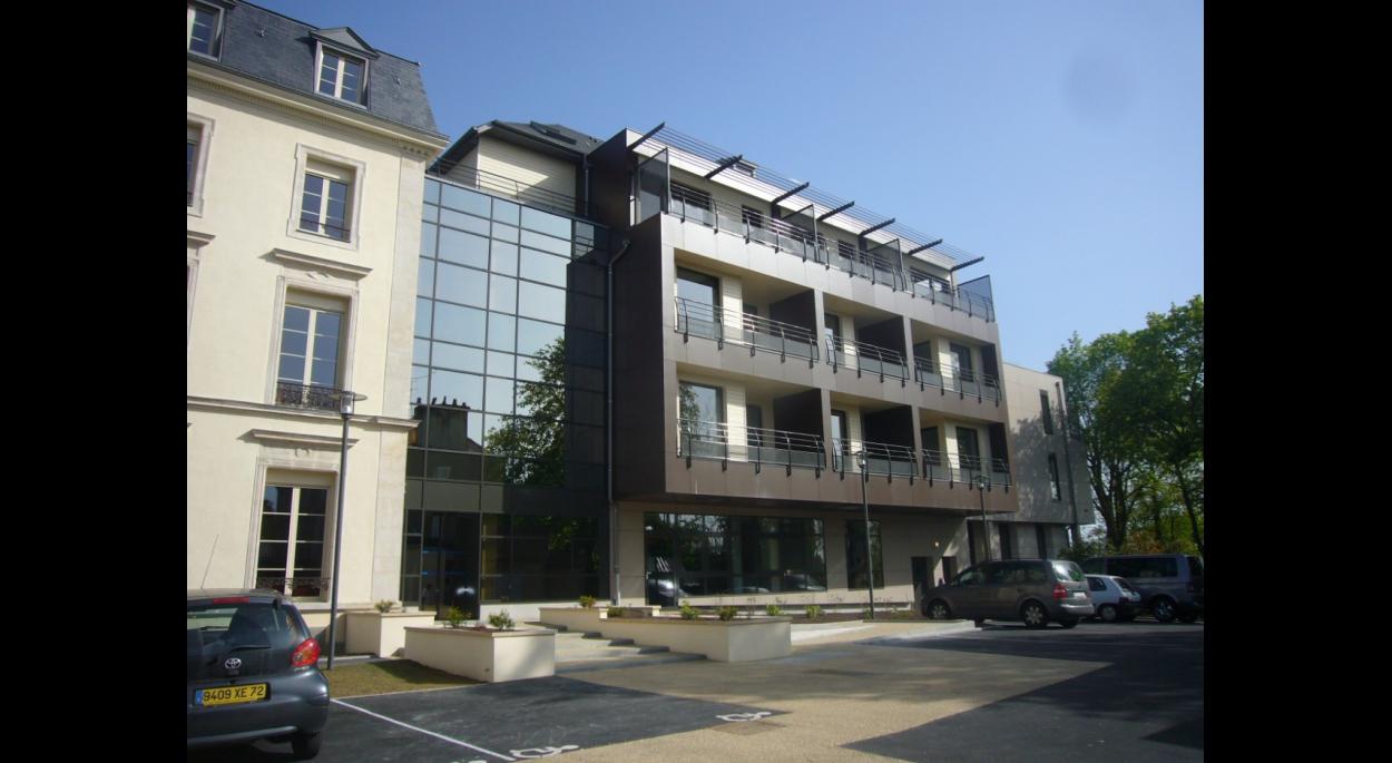 foyer logements - le mans | aaue - michel roinne - architecte le