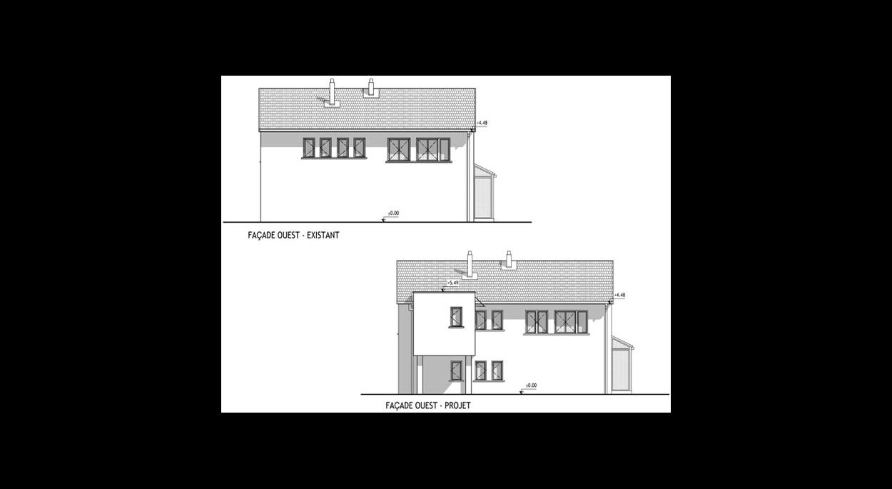 Renovation Et Extension D Une Maison A Corbas Assari Cellier