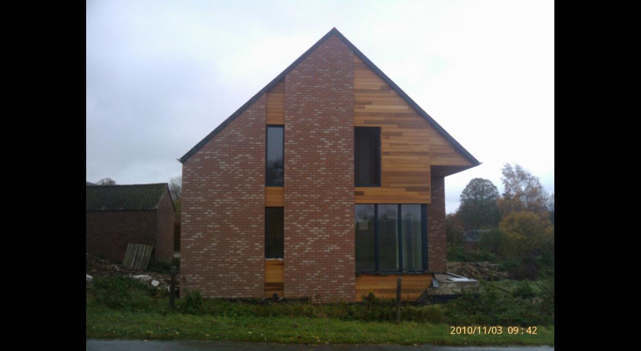 Maison d\'habitation passive | Quentin Goulard Architecture | Sévigny ...
