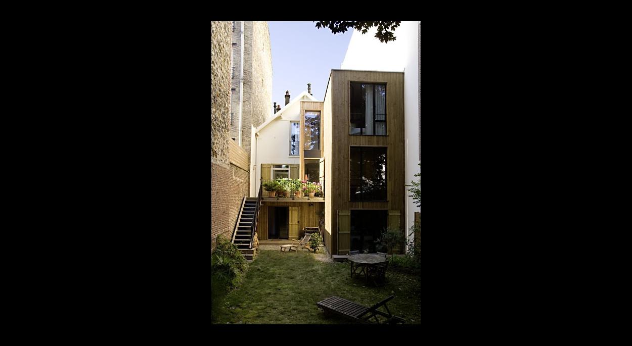 Extension-rénovation à Suresnes