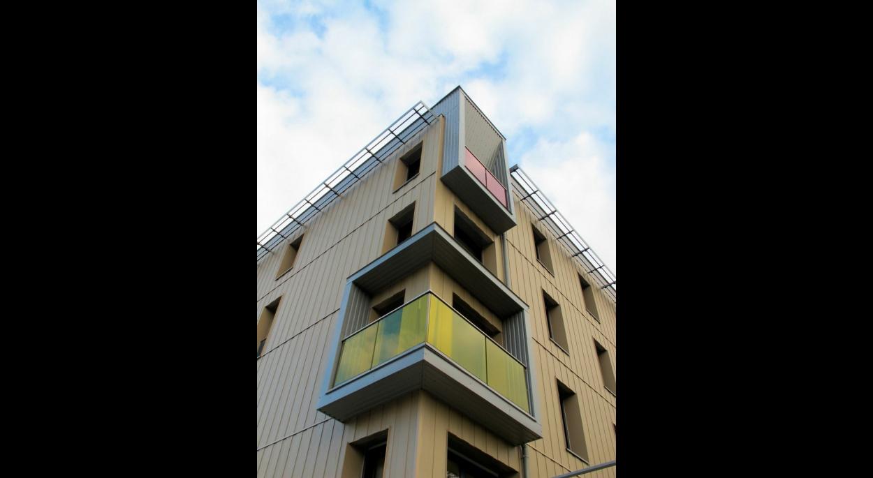 16 logements collectifs bbc a u agence f bois architecte dplg 39000 lons le saunier. Black Bedroom Furniture Sets. Home Design Ideas