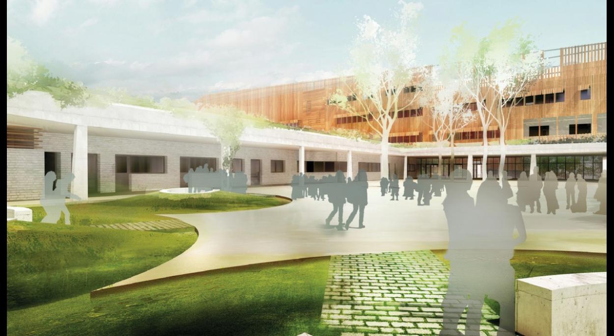 reconstruction du collège léon blum à villeneuve d'ascq | agence mp