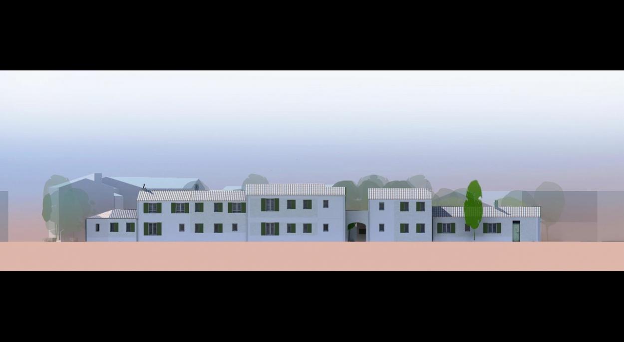 une  façade pour un projet