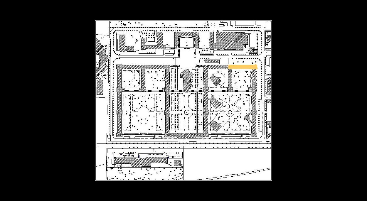 Plan de Masse de l'hôpital Charles Foix
