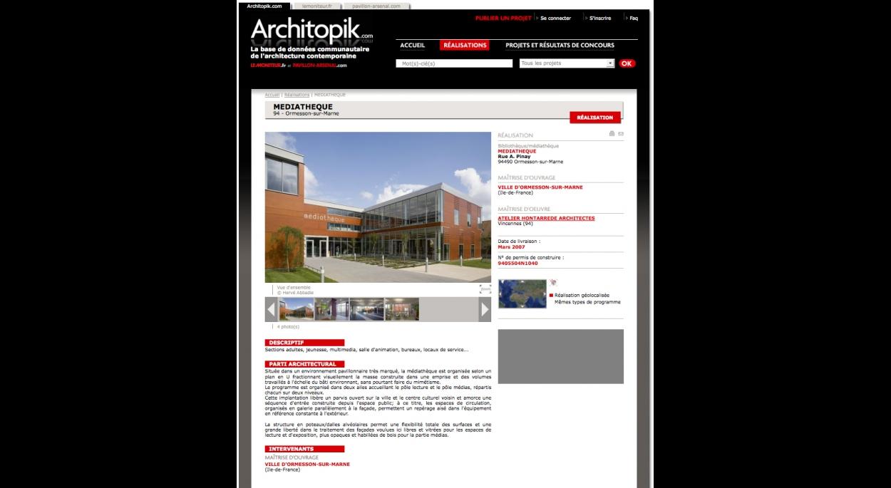 Publication architopik