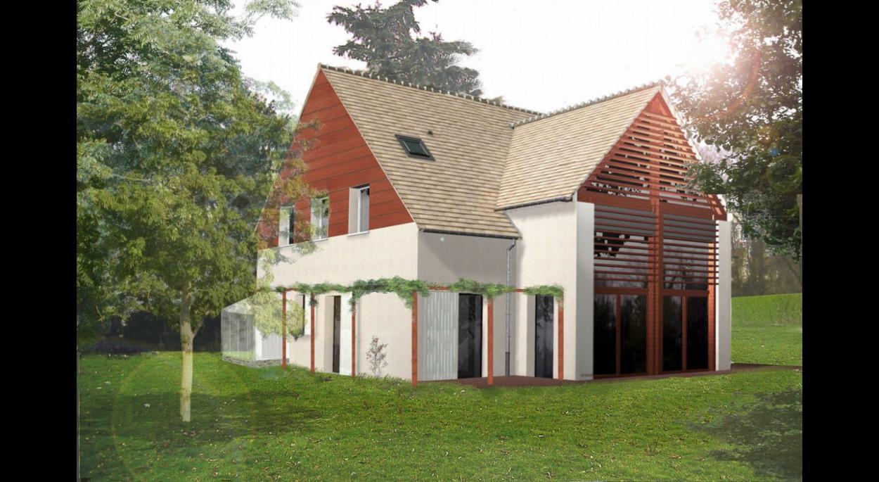 maison architecte lardy. Black Bedroom Furniture Sets. Home Design Ideas