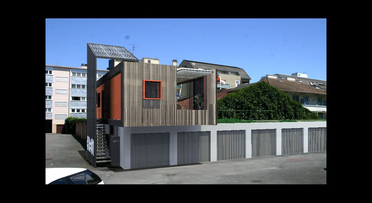 maison container / Atelier S architectes / sébastien NUTTENS