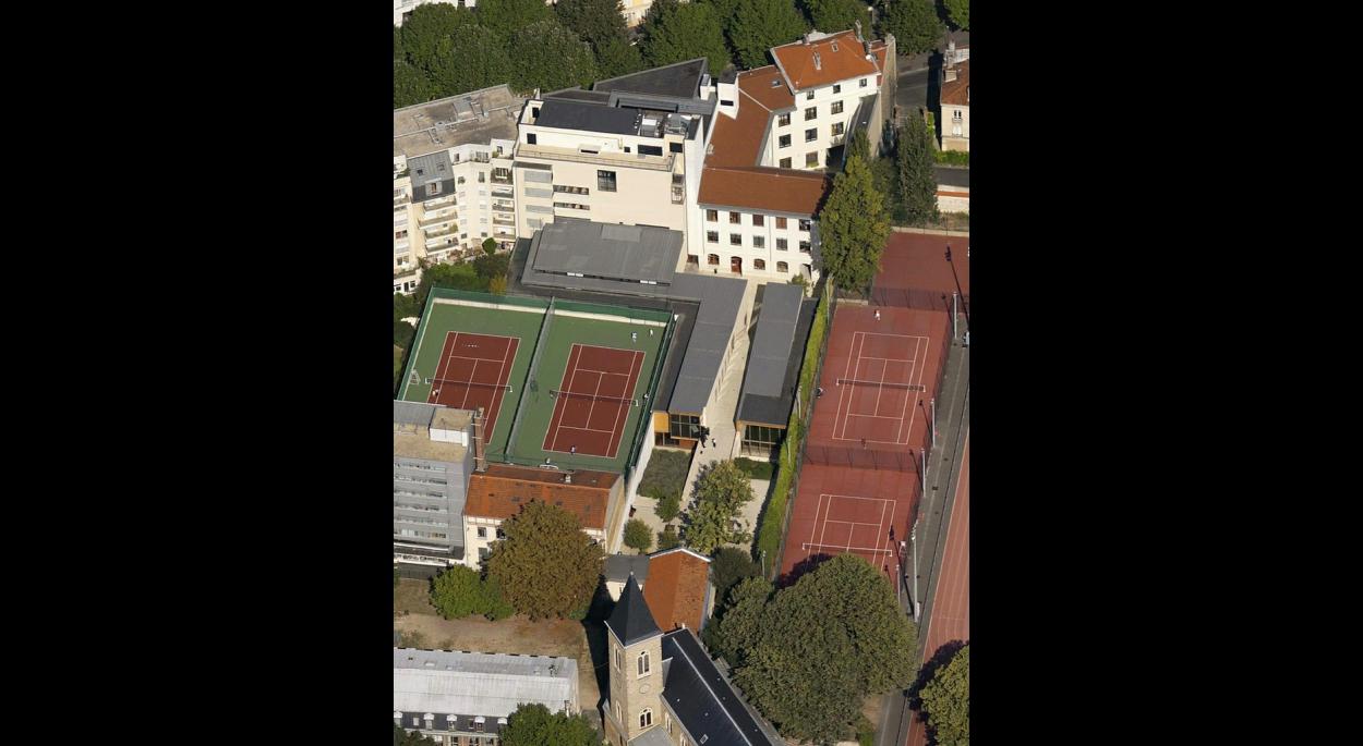 CFA ET LYCEE HOTELIER BELLIARD  - PARIS XVIIIème : vue aérienne
