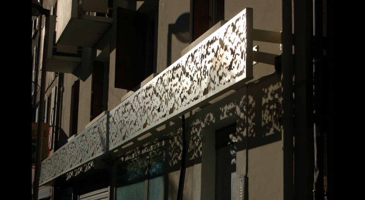 bandeau renovation de facade digne les bains benoit sejourne architecte