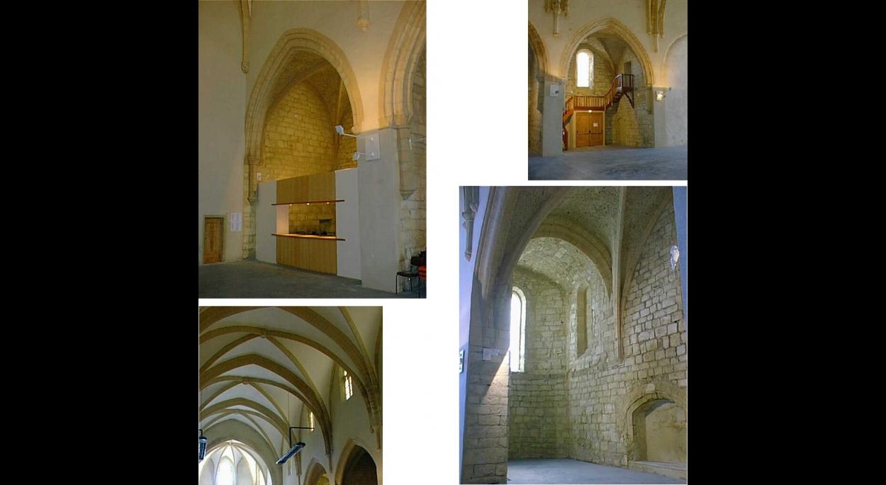Clermont l'Hérault - Chapelle des Pénitents - Immeuble classé MH - Restauration et restructuration (salle de spectacles)