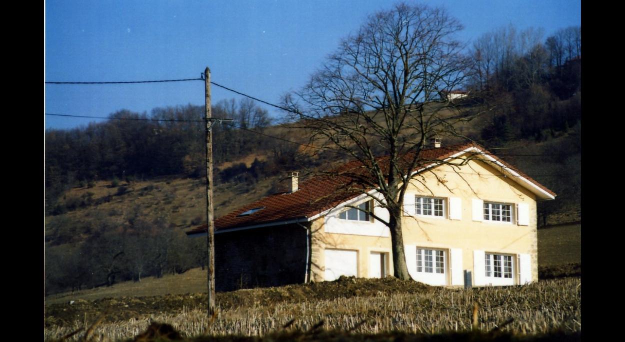 Façade après travaux -  Maison Poilroux - Adhoc Architecture - Jean Michel Costaz