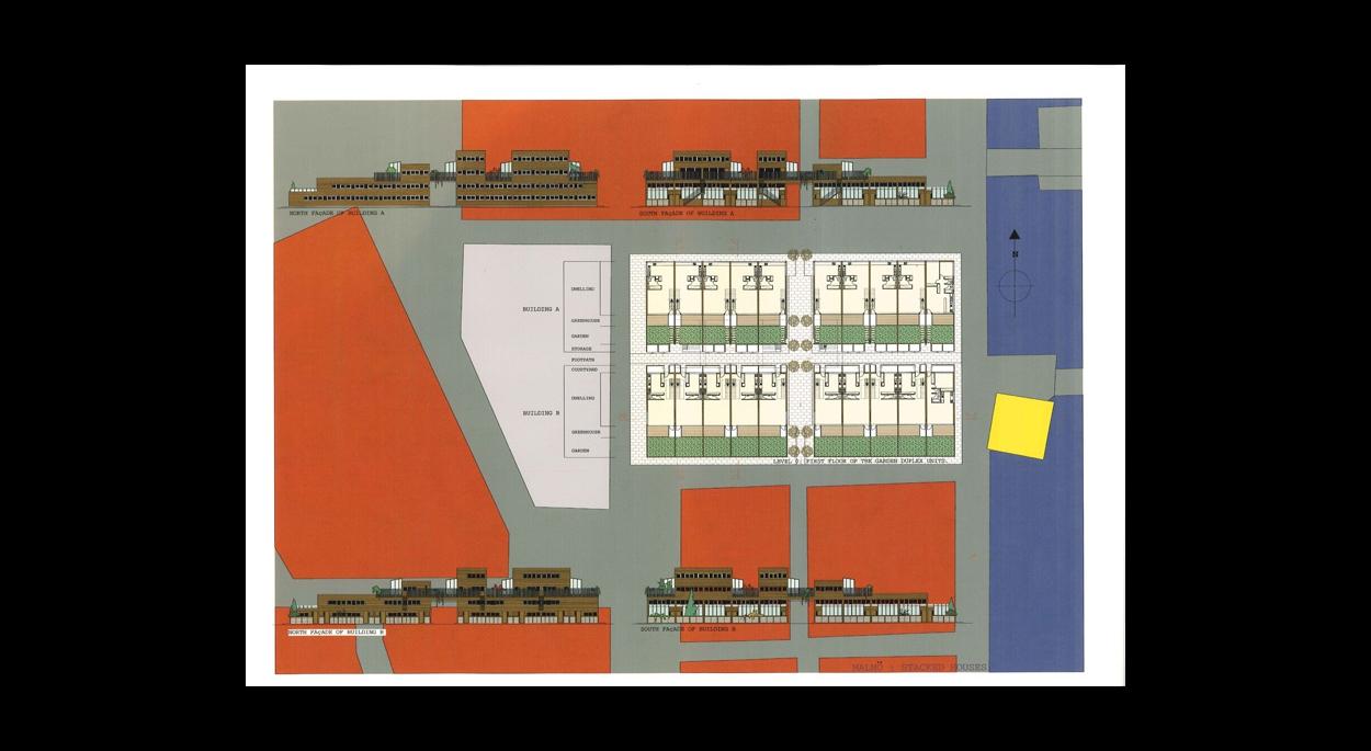 Maison Ossature Bois Suede concours pour la création d'un ensemble de logements à