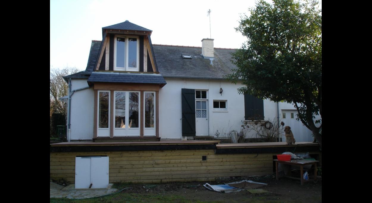 extension de maison | cassan sébastien, architecte d.p.l.g.