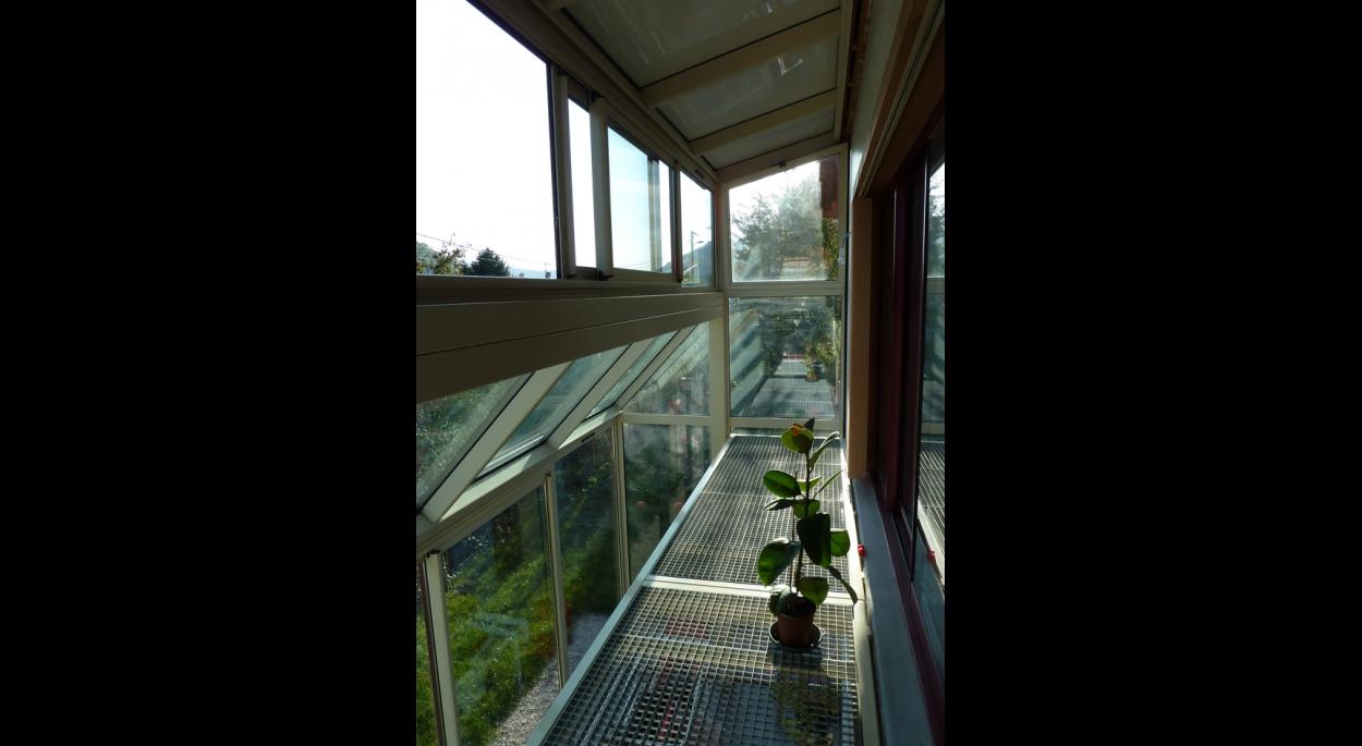 Audacieuse Maison avec serre bioclimatique | Cléo Châtelet Architecte JH-83