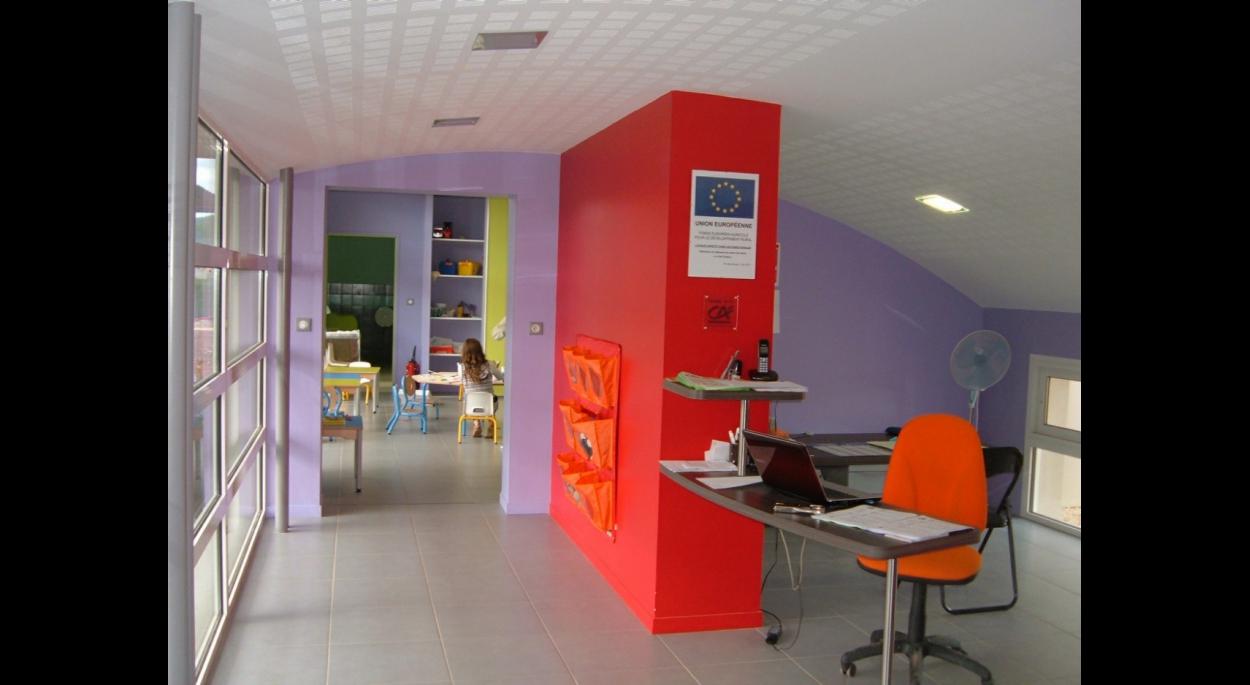Extension 2011 - Vue sur l'accueil