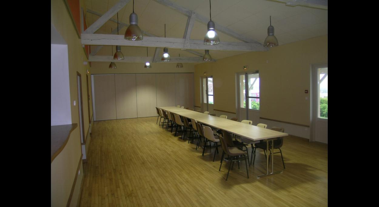 Rehabilitation D Une Salle Des Fetes Poirier Bordage